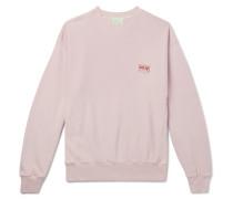 Logo-Print Organic Loopback Cotton-Jersey Sweatshirt