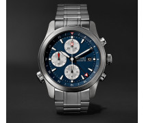 Alt1-zt Limited Edition Automatic Chronograph 43mm Stainless Steel Watch - Blue