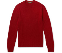 Baby Cashmere And Silk-blend Sweater - Red