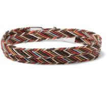 Woven Cotton Wrap Bracelet