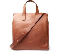 Duke Leather Tote Bag - Tan