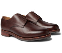 Curt Hand-Painted Full-Grain Leather Derby Shoes