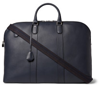 Hampstead Leather Holdall - Navy