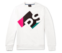 Logo-Print Organic Loopback Cotton Jersey Sweatshirt