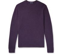 Mélange Merino Wool Sweater