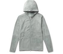 B-way Suede Jacket