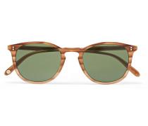 Kinney 49 Square-frame Tortoiseshell Acetate Sunglasses - Tan