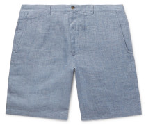 Maddox Mélange Linen Shorts