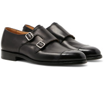 Leavenworth Leather Monk-Strap Shoes