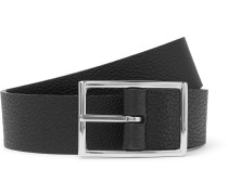3cm Reversible Full-grain Leather Belt