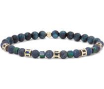 14-Karat Gold Sapphire Beaded Bracelet