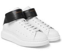 Larry Exaggerated-sole Leather High-top Sneakers
