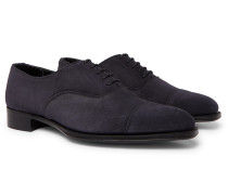 + George Cleverley Leather Oxford Shoes