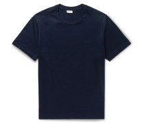Logo-Embroidered Cotton-Jersey T-Shirt