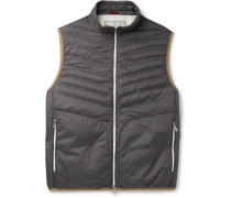 Quilted Shell Down Gilet
