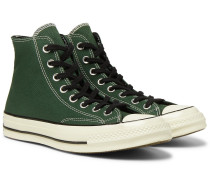 Chuck 70 Canvas High-top Sneakers - Green