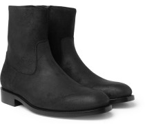 Brushed-suede Chelsea Boots