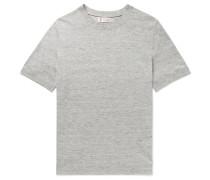 Linen and Cotton-Blend T-Shirt