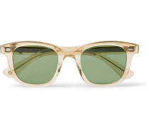Calabar 49 Square-frame Acetate Sunglasses - Clear