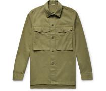 Stretch Cotton-twill Shirt