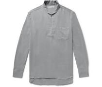 Lyocell Half-zip Shirt