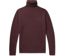 Yak and Wool-Blend Rollneck Sweater