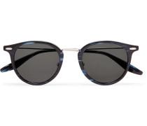 Cambridge Round-frame Acetate And Titanium Sunglasses