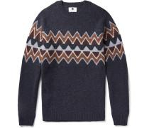 Fair Isle Wool-blend Sweater - Multi