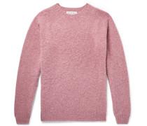 Shetland Wool Sweater - Pink