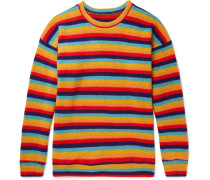 Sunset Striped Cashmere Sweater