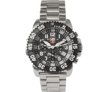 Colourmark 3182 Stainless Steel Chronograph Watch - Black