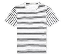Striped Slub Cotton-Jersey T-Shirt