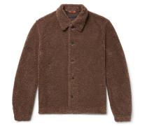 Fleece Blouson Jacket