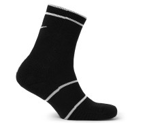 Nikecourt Essentials Cushioned Dri-fit Tennis Socks - Black
