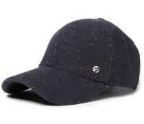 Lee Donegal Wool Baseball Cap - Navy