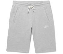 Legacy Slim-fit Mélange Cotton-jersey Drawstring Shorts