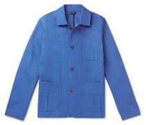 Cotton-Twill Chore Jacket