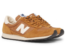 National Class Suede, Nylon And Leather Sneakers