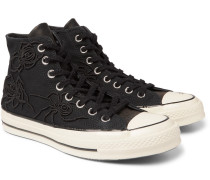 + Dr Woo 1970s Chuck Taylor All Star Embroidered Canvas High-top Sneakers