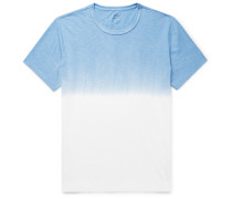 Dip-Dyed Slub Cotton-Jersey T-Shirt