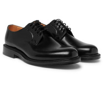 Shannon Polished-leather Whole-cut Derby Shoes