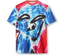 New Box Printed Cotton-Jersey T-Shirt