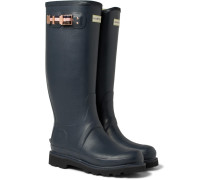 + Hunter Balmoral Rubber Wellington Boots - Navy