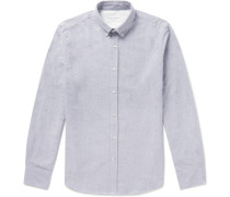 Button-Down Collar Brushed-Cotton Oxford Shirt