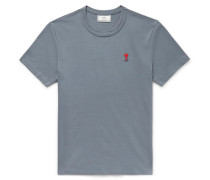 Logo-Appliquéd Cotton-Jersey T-Shirt