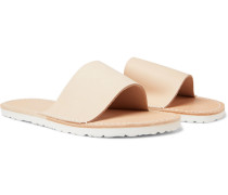 Atelier Leather Slides