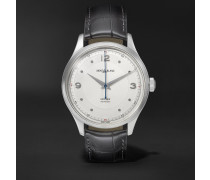 Heritage Automatic 40mm Stainless Steel And Alligator Watch - White