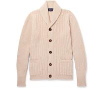 Slim-fit Shawl-collar Cashmere Cardigan