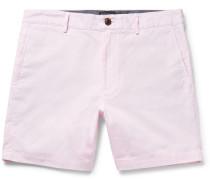 Baxter Slim-fit Striped Cotton Shorts