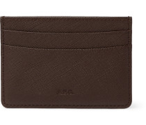 Cross-Grain Leather Cardholder